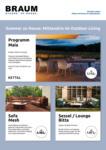 Möbel Braum Sommer zu Hause: Mittendrin im Outdoor Living - bis 31.07.2020