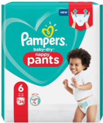 Pampers Baby Dry Pants Gr. 6 Einzelpack