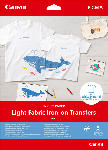 Saturn T-Shirt-Transferfolie LF-101 Light Fabric Iron-on Transfers, A4, 125 g/m², 5 Blatt (4004C002)
