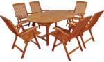 Möbelix Gartentischgruppe Sun Flair