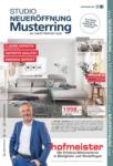 Hofmeister Neueröffnung - bis 28.07.2020