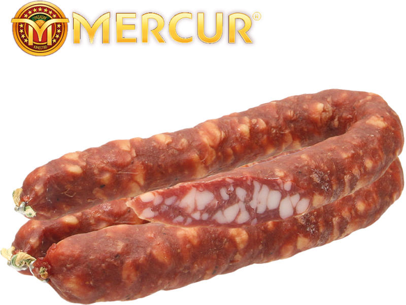 Rohwurst, Salami grob, geräuchert