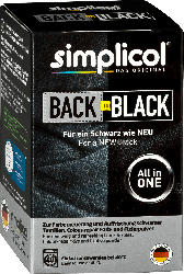 Simplicol Textilfarbe Back to Black Farberneuerung
