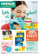 MERKUR Flugblatt 9.7. bis 15.7.  Niederösterreich