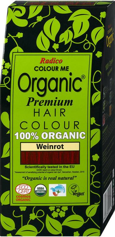 Radico Colour Me Organic Premium Haarfarbe - Weinrot