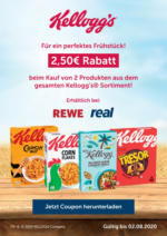 Kellogg's kaufen & sparen - bei Rewe & Real