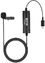 DM1 Digital Lavallier Mikrofon für IOS (Apple Lightning)