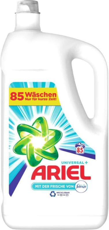 Ariel flüssig Waschmittel Febreze 85 WG -
