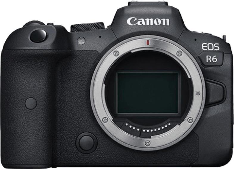 Systemkamera EOS R6 Gehäuse, schwarz