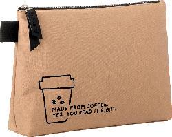 Miomojo Kosmetiktasche aus recycelter Kaffeekohle
