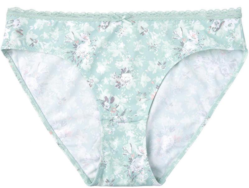 Damen Slip mit Blumen-Muster (Nur online)