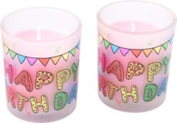 2 Kerzen im Glas