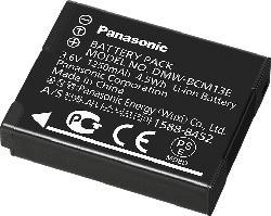 PANASONIC DMW-BCM13-E Akku Panasonic , Li-Ion, 3.6 Volt, 1250 mAh