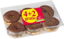 Schoko Donuts 6er