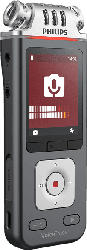 PHILIPS DVT 7110 Diktiergerät, Anthrazit/Chrom