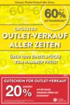 Möbel Hubacher Hubacher Outlet-Verkauf - bis 02.08.2020