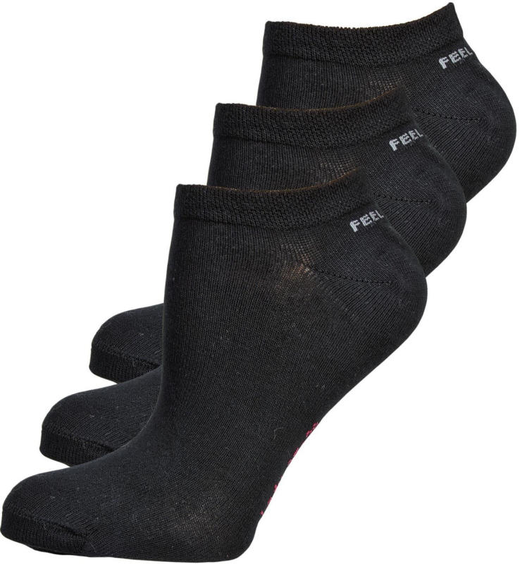 Feel Well Damen-Sneakersocken 3er-Pack -