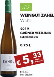 2019 Grüner Veltliner Goldberg (BIO)
