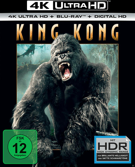 King Kong Extended Edition (inkl. HDR)