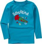 Ernsting's family Kinder Langarmshirt mit Schulstart-Print (Nur online)