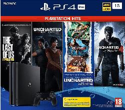 PlayStation 4 Pro 1TB Naughty Dog Bundle