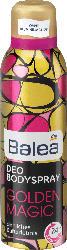 Balea Deo Spray Bodyspray Golden Magic