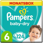 OTTO'S Pampers Baby Dry t. 6, conf. mensile 124 pannolini -
