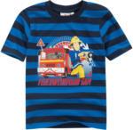 Ernsting's family Feuerwehrmann Sam T-Shirt mit Blockstreifen
