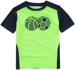 Jungen Sport-T-Shirt mit Ball-Motiv
