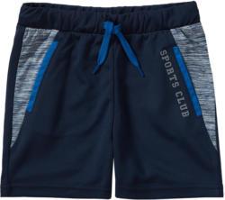 Jungen Sport-Shorts mit seitlichen Einsätzen