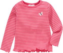 Newborn Langarmshirt im Ringel-Look