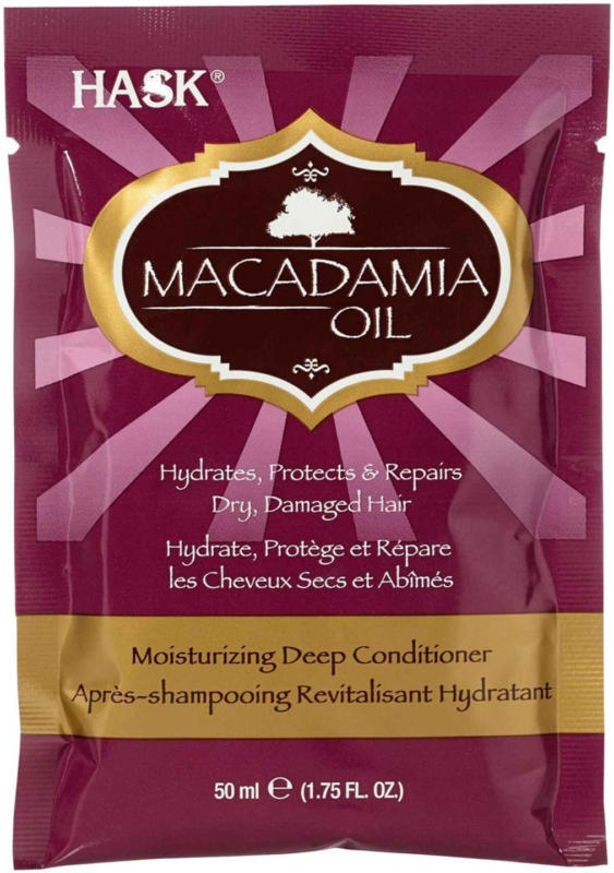 Hask Deep Conditioner Macadamia Oil Mois -