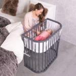 BabyOne babybay Boxspring Comfort schiefergrau - bis 16.08.2020