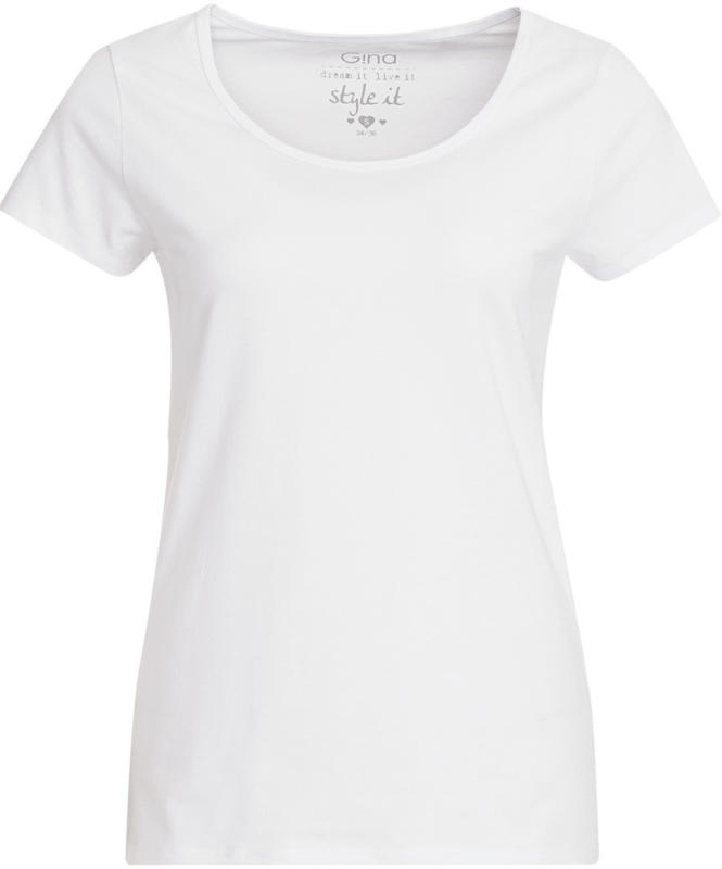 Damen T-Shirt im Basic-Look (Nur online)