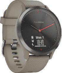 Hybrid Smartwatch Vivomove HR, schwarz/sand (010-01850-03)