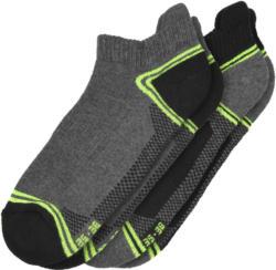 2 Paar Damen Sportsneaker-Socken (Nur online)