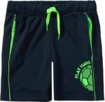 Ernsting's family Jungen Sport-Shorts mit Neon-Details
