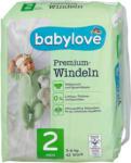 dm babylove Premium-Windeln Gr. 2 mini (3-6 kg)