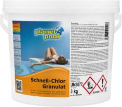 Planet Pool Chlore rapide en granulés 3 kg -