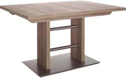 Esstisch in Metall, Holzwerkstoff 130(178)/80/75 cm