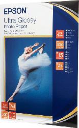 EPSON C13S041927 Ultra Glossy Fotopapier   A4