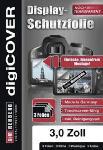 Media Markt S+M Digicover 3 Zoll Monitor Schutzfolie, Schutzfolie für Monitore, Transparent