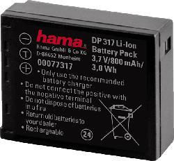 """HAMA """"DP 317"""" für Panasonic CGA-S007E Akku Panasonic , Li-Ion, 3.7 Volt, 800 mAh"""