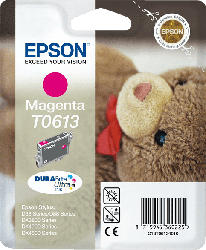 EPSON Original Tintenpatrone Teddybär Magenta (C13T06134010)