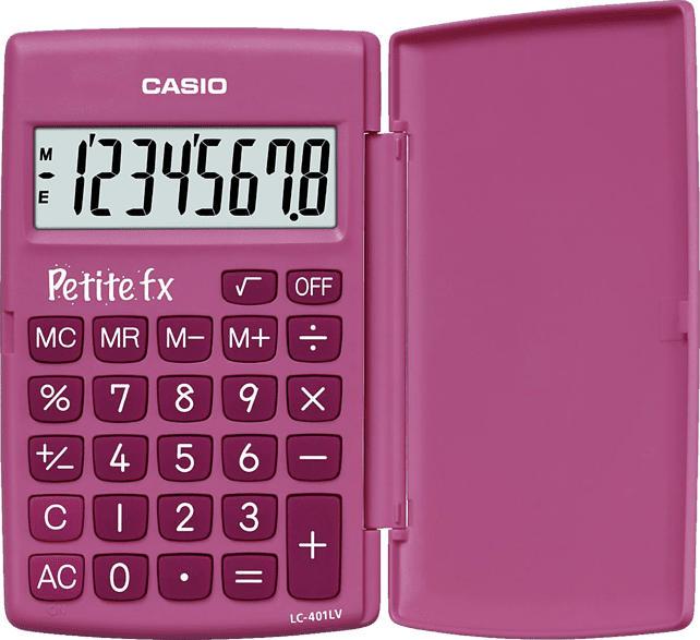 CASIO LC-401LV-PK Taschenrechner