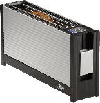 MediaMarkt RITTER 630.010 VOLCANO 3 Toaster Silber (950 Watt, Schlitze: 1)