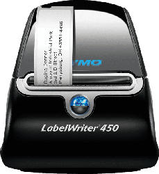 DYMO LabelWriter 450 Etikettendrucker, Schwarz/Silber