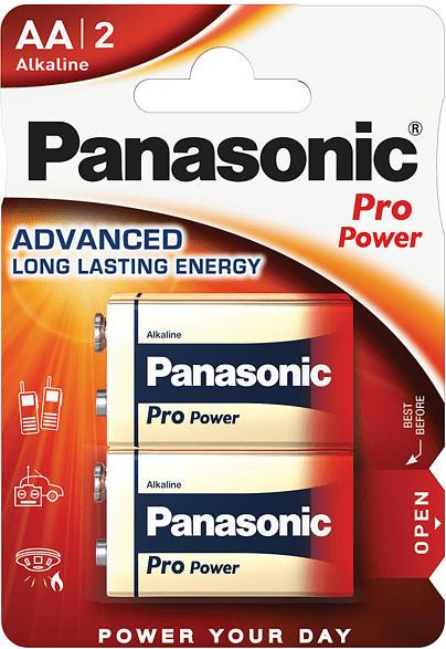 PANASONIC 00245970 6LR61PPG/2BP 9 Volt Batterie Alkaline