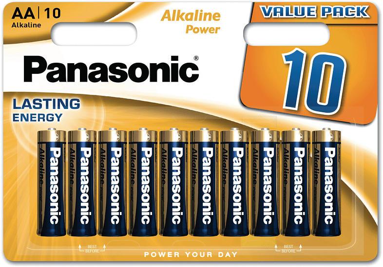 PANASONIC LR6APB/10BW AA Mignon Batterie Alkaline