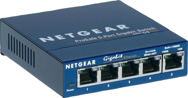 Switch NETGEAR GS 105 5